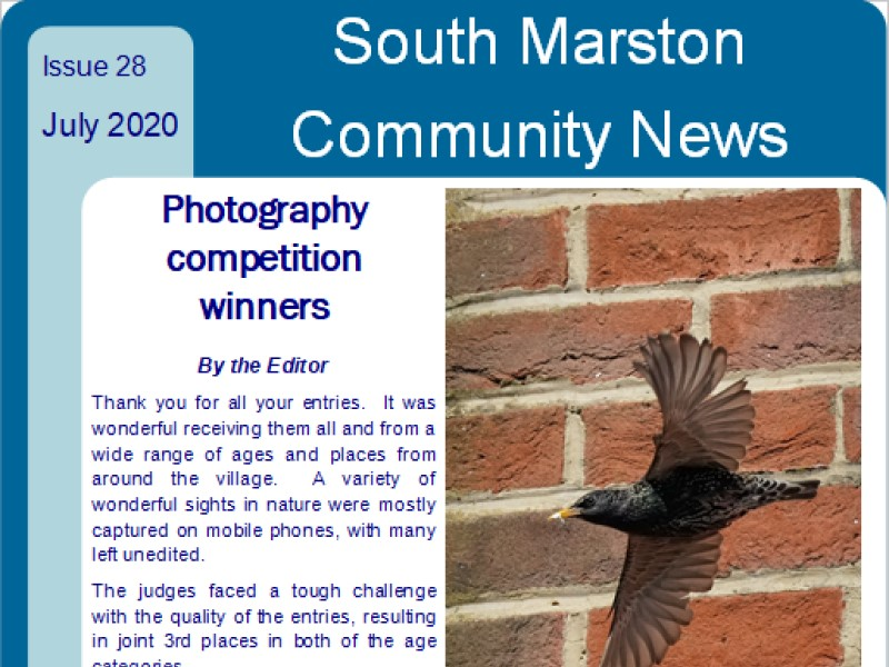Cover of July 2020 edition 28 of Community News