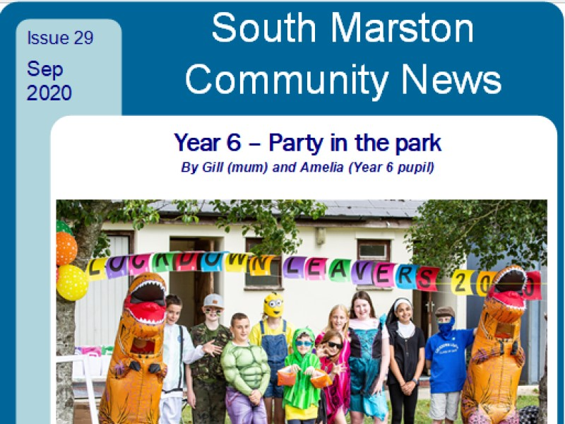 Cover of September 2020 edition 29 of Community News