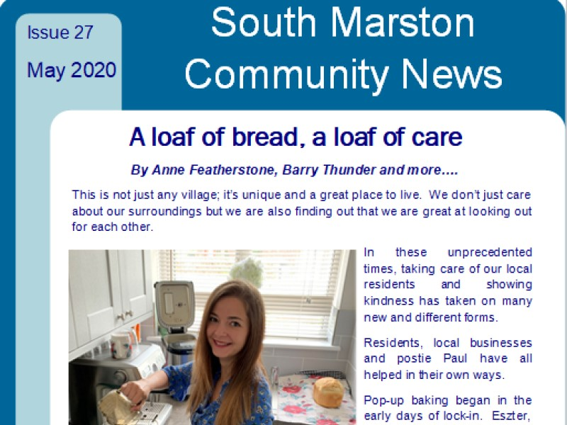 Cover of May 2020 edition 27 of Community News