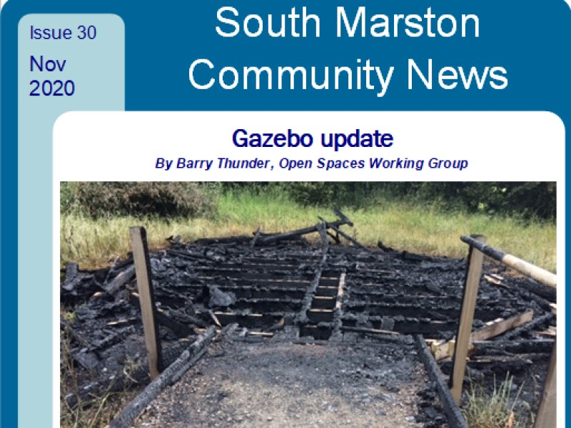 Cover of November 2020 edition 30 of Community News