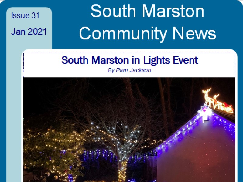 Cover of January 2021 edition 31 of Community News