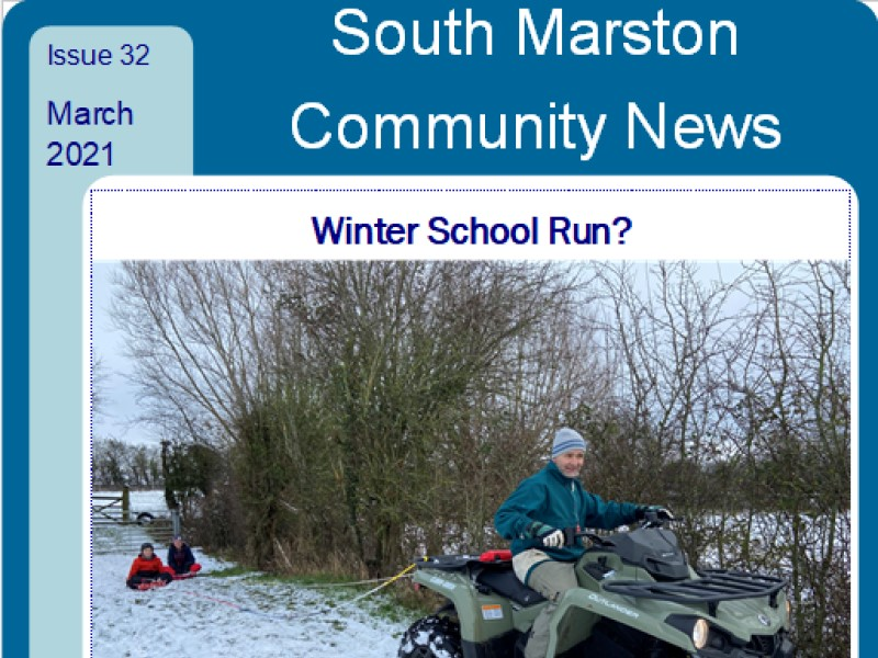 Cover of March 2021 edition 32 of Community News