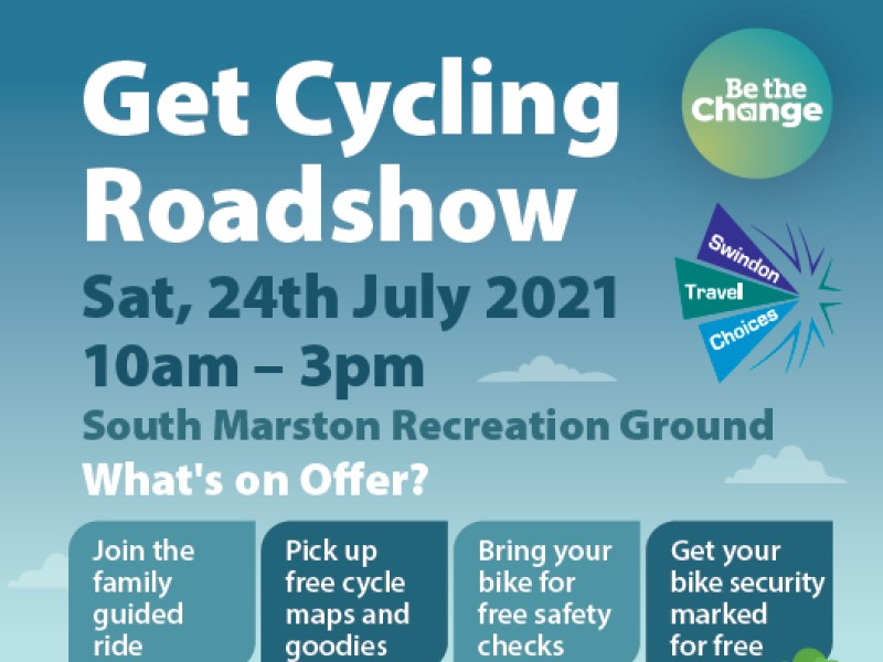 Get Cycling Roadshow 24th July 2021