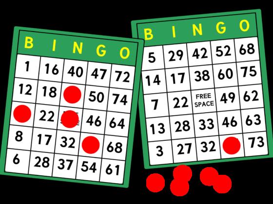 Bingo sheets graphic